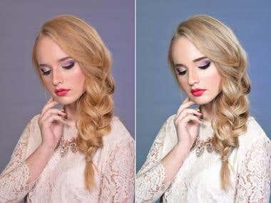 High End Beauty portrait retouching