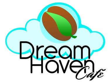 Dream Haven - Logo Design - Coffee and Tea Place