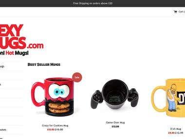 Sexy Mugs Website