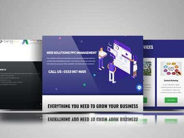 website for internet marketing agency