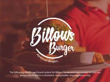 Branding For Billows Burger