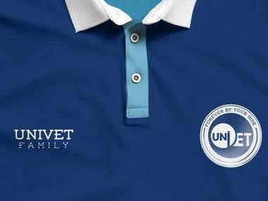 Veterinary Medicine College Charity Team T-Shirt Design