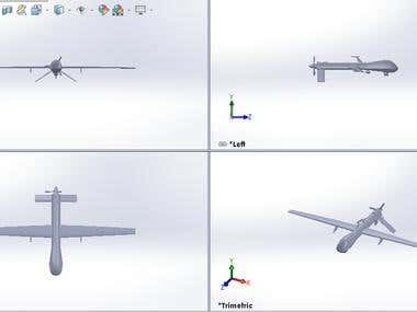 UAV (Drone) Design, Analysis and Fabrication