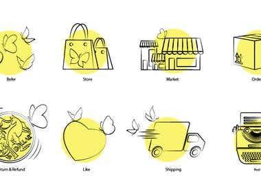 Common icons
