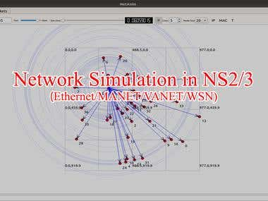 NS2/3 simulation