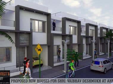 ROW HOUSES DESIGN