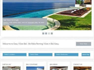 Bali Villa Listing Site