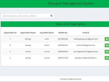 TRKIT (Bus Management System)