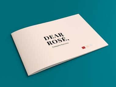 Dear Rose Presentation Brochure