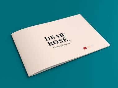 Dear Rose Presentation Brochure