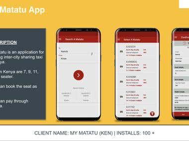 Sharing Taxi Application- Kenya