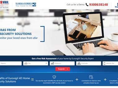 EurVigil Landing Page