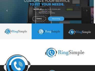 Ring Simple Logo Design