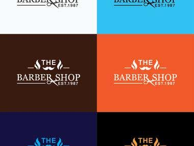 The Barber Shop Logo Design