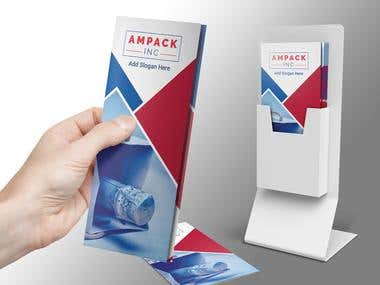 Trifold Brochure for Ampack INC