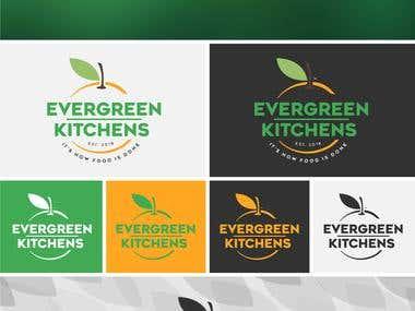 Logo for Evergreen Kitchens