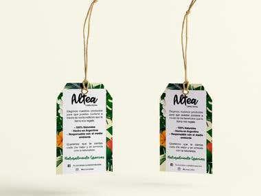 Label Design - ALTEA