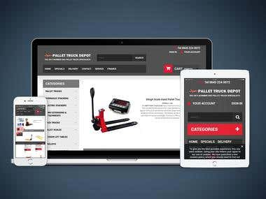 eCommerce Development in Pretashop