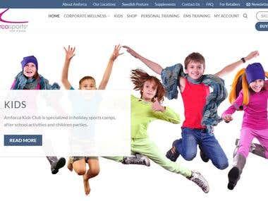 WordPress / WooCommerce site for wellness equipments
