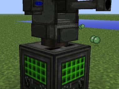 Minecraft mod: ICBM: Sentry addon