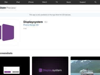 Displaysystem(iOS App)