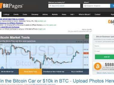 Bitpages.co - Payment Gateways Integration