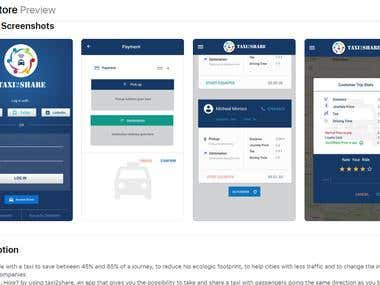 Taxi2Share-Cab Sharing Service