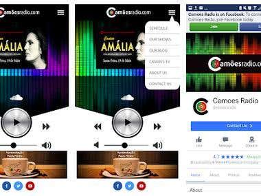 Camões Radio Station(Android, ionic framework)