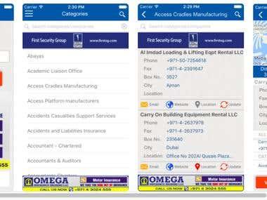 Dubai Commercial Directory(iphone)