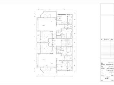Architectural Set of Drawings In Revit