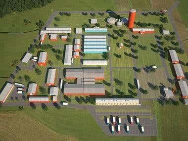 3d warehouses