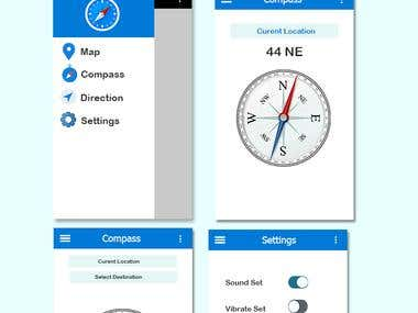 Mobile Compass Application development