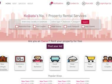 Home For A Rental Website