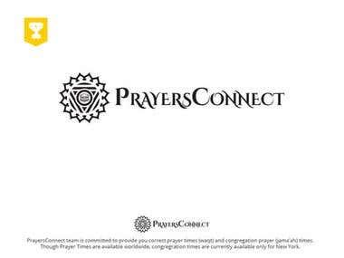Logo for the website prayersconnect.com