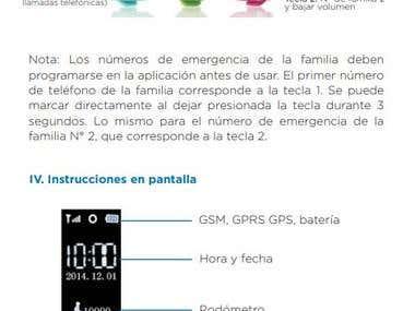 Traducción y diseño de producto Inglés - Español