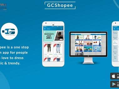 GCShopee - An E-Commerce App and Website