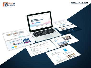 SC Law Account Software Website