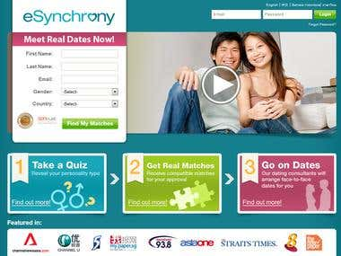 Esynchrony - Online Dating Android and IOS and Web