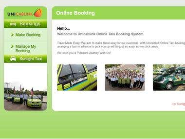 Unicablink - KL taxi booking app and website