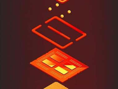 CPUs decorative posters