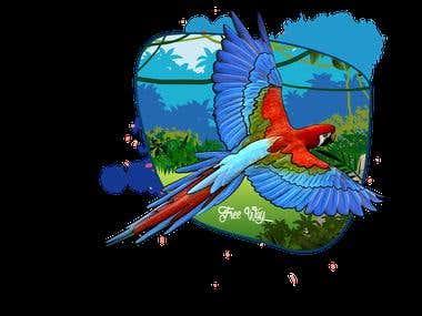 parrot design