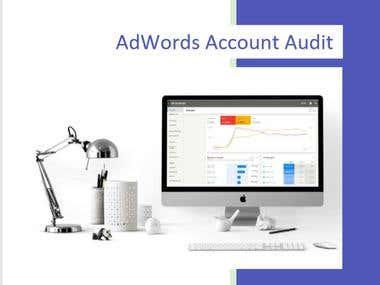 PPC Account Audit Example
