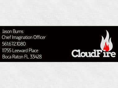 CloudFire Business Card