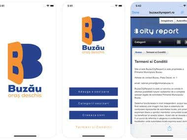 Webview App: Buzau City