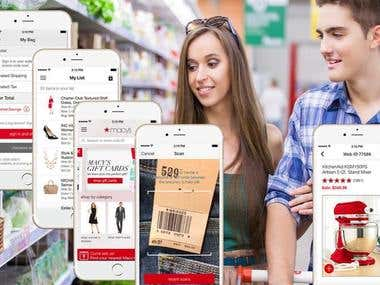 Shopping App -Macy's ( Android & iPhone )