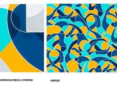 vectorized pattern