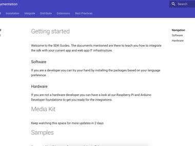 SaltNow SDK Developer Documentation Portal