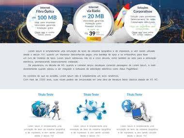 Template and WordPress Website
