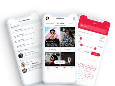 Peoplr Social Networking App