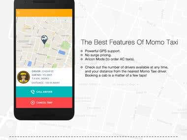 Momo Taxi - An app for taxi marketplace